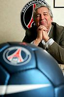 Fotball<br /> Frankrike<br /> Foto: imago/Digitalsport<br /> NORWAY ONLY<br /> <br /> 23.01.2007  <br /> Präsident Alain Cayzac (Paris St. Germain)