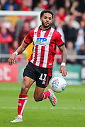 Lincoln City forward Bruno Miguel Carvalho Andrade (11) during the EFL Sky Bet League 1 match between Lincoln City and Sunderland at Sincil Bank, Lincoln, United Kingdom on 5 October 2019.