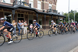 Peloton cheered on from the roadside at Boels Rental Ladies Tour Stage 2 a 132.8 km road race from Eibergen to Arnhem, Netherlands on August 30, 2017. (Photo by Sean Robinson/Velofocus)