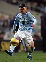 Photo: Paul Thomas/Sportsbeat Images.<br /> Manchester City v Sunderland. The FA Barclays Premiership. 05/11/2007.<br /> <br /> City's goal scorer Stephen Ireland.