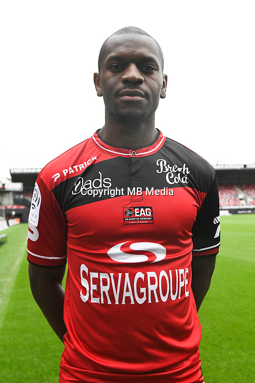Jordan Ikoko of Guingamp during the Photo shooting of En Avant Guingamp on september 27th 2016<br /> Photo : Philippe Le Brech / Icon Sport