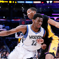 04-10 TIMBERWOLVES AT LAKERS