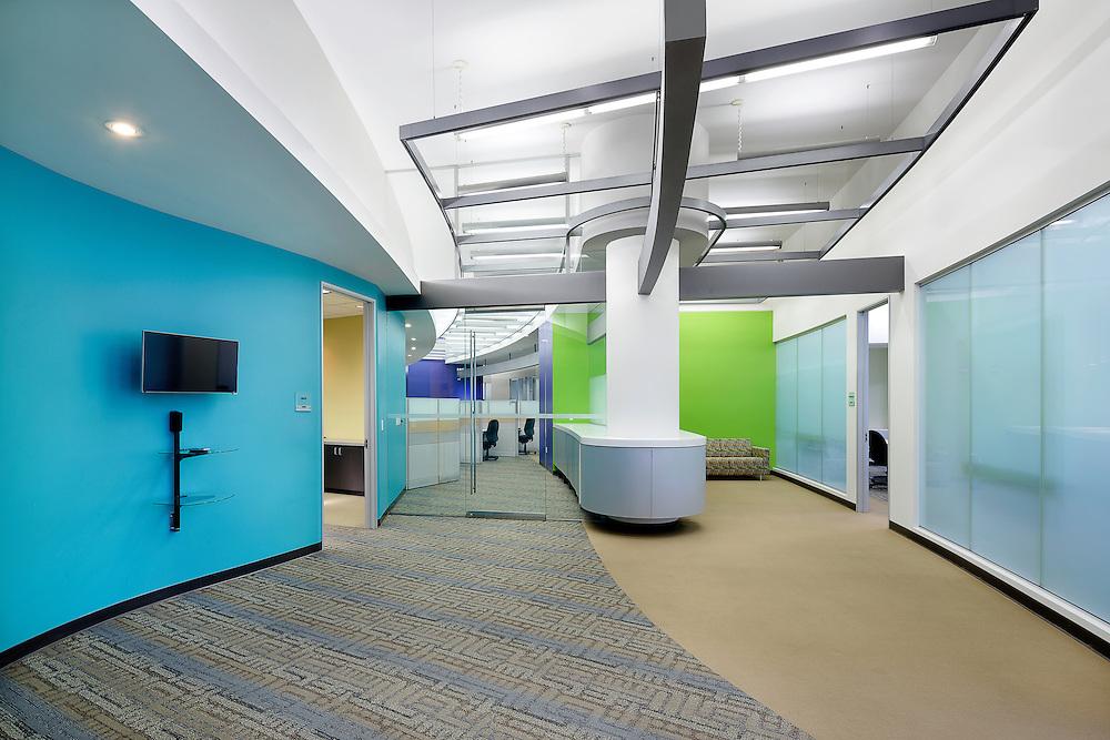 Ground Floor Office Interior at 300 Capitol