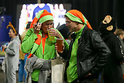 Fans in fancy dress during the 2019 William Hill World Darts Championship Final at Alexandra Palace, London, United Kingdom on 1 January 2019.