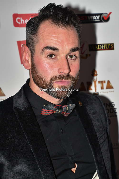 Ben Jardine attend at Asian Restaurant & Takeaway Awards | ARTA 2018 at InterContinental London - The O2, London, UK. 30 September 2018.