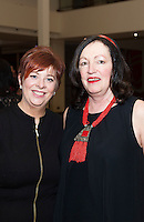 Mary Bruen and Lila Smyth from The Galway Sings Project who performed at Choir Factor in the Radisson Blu.<br /> Choir Factor is a fundraiser for The Sccul Sanctuary, Therapeutic Support Centre in Kilcornan Clarenbrdge.<br /> <br />  Photo:Andrew Downes, xposure.