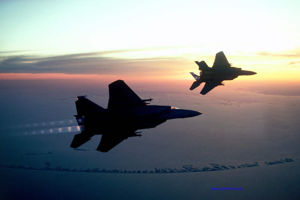 F-15A Eagles, Louisiana Air National Guard