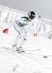 February 8, 2019 - Lahti, Finland - Peter Prevc participates in FIS Ski Jumping World Cup Large Hill Individual training at Lahti Ski Games in Lahti, Finland on 8 February 2019. (Credit Image: © Antti Yrjonen/NurPhoto via ZUMA Press)