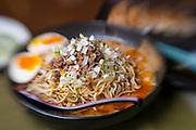 "A type of Taiwanese-style ramen in Japan called ""Shirunashi tantanmen"""