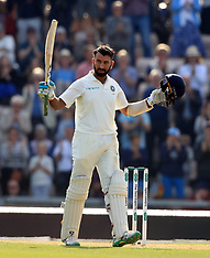 England v India - Fourth Test - Day Two - 31 Aug 2018