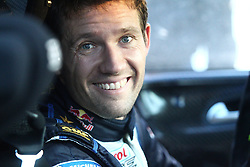 14.02.2015, Karlstad, Karlstad, SWE, FIA, WRC, Schweden Rallye, im Bild Sebastien Ogier (Volkswagen Motorsport/Polo R WRC) // during the WRC Sweden Rallye at the Karlstad in Karlstad, Sweden on 2015/02/14. EXPA Pictures © 2015, PhotoCredit: EXPA/ Eibner-Pressefoto/ Bermel<br /> <br /> *****ATTENTION - OUT of GER*****
