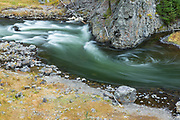 Firehole River in Firehole Canyon