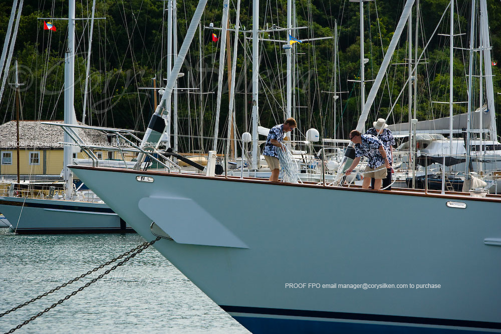 Timoneer at the Superyacht Cup Regatta.