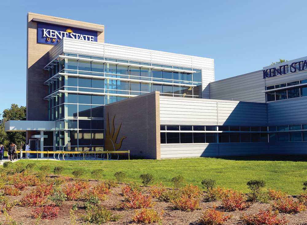An exterior shot of the new Twinsburg Regional Academic Center. The center is an offshoot of the Geauga campus.