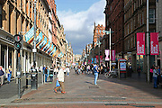 Glasgow, Scotland, Buchanan street.