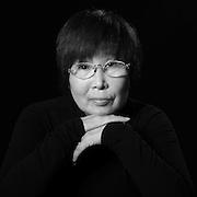 August 16, 2013; Hiroshima, Hiroshima Pref., JPN - Hibakusha Legacy Project : Hope for Peace. Keiko Ogura<br /> <br /> photos of hibakusha<br /> <br /> Photo Credit: Darrell Miho