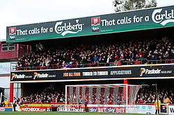 Bristol City fans away at Brentford - Mandatory by-line: Dougie Allward/JMP - 16/04/2016 - FOOTBALL - Griffin Park - Brentford, England - Brentford v Bristol City - Sky Bet Championship
