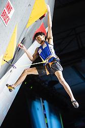 09.09.2018, Kletterzentrum, Innsbruck, AUT, IFSC, Kletter WM Innsbruck 2018, Finale, Herren, Vorstieg, im Bild Meichi Narasaki (JPN) // Meichi Narasaki of Japan during Final of Men Lead for the IFSC Climbing World Championships 2018 at the Kletterzentrum in Innsbruck, Austria on 2018/09/09. EXPA Pictures © 2018, PhotoCredit: EXPA/ Johann Groder