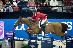 Ward Mclain, (USA), Rothchild<br /> Longines FEI World Cup™ Jumping Final III round 1<br /> Las Vegas 2015<br />  © Hippo Foto - Dirk Caremans<br /> 19/04/15