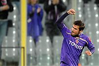 Fotball<br /> Italia<br /> Foto: Inside/Digitalsport<br /> NORWAY ONLY<br /> <br /> ADRIAN MUTU CELEBRATES SCORING LEADING GOAL<br /> ESULTANZA ADRIAN MUTU DOPO IL GOL<br /> <br /> Fiorentina v Debrecen<br /> 04.11.2009