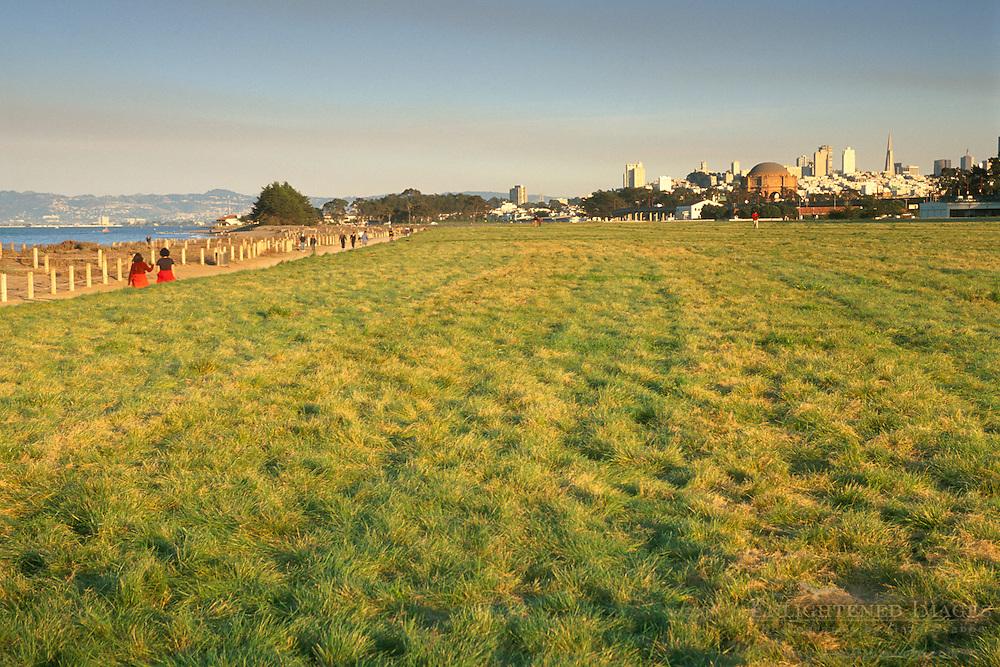 Crissy Field, The Presidio of San Francisco, Golden Gate National Recreation Area, San Francisco, California