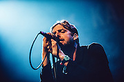 Ricky Wilson/Kaiser Chiefs performing live at the Regency Ballroom concert venue in San Francisco, CA on March 28, 2015