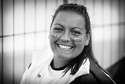Sarah Benchali, European Softball Woman Championship 2015.