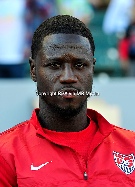 Football International Friendly Matchs 2014 / <br /> Usa vs Korea Republic 2-0   ( StubHub Center Stadium - Carson - LA , Usa ) - <br /> Eddie Johnson of Usa ,  prior the match between Usa and Korea Republic