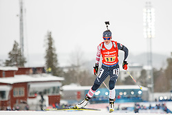 March 16, 2019 - –Stersund, Sweden - 190316 Joanne Reid of USA competes in the Women's 4x6 km Relay during the IBU World Championships Biathlon on March 16, 2019 in Östersund..Photo: Johan Axelsson / BILDBYRÃ…N / Cop 245 (Credit Image: © Johan Axelsson/Bildbyran via ZUMA Press)