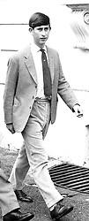 HRH PRINCE CHARLES in July 1965.  ECF 31