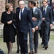 NLD/Delft/20131102 - Herdenkingsdienst voor de overleden prins Friso, prinses Margriet en mr. Pieter van Vollenhoven