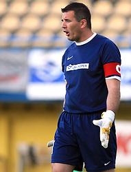 Goal keaper Ermin Hasic at 31st Round of PrvaLiga Telekom Slovenije 2008/2009 league match between NK Luka Koper and NK Primorje, on May 2, 2009, in SRC Bonifika, Koper, Slovenia. Luka Koper won 1:0. (Photo by Vid Ponikvar / Sportida)