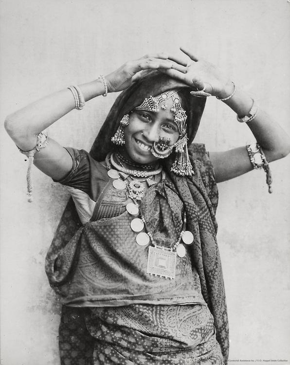 A Girl, Dellhi, India, 1929
