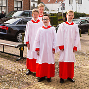 NLD/Naarden/20180330 - Matthaus Passion in de grote kerk van Naarden 2018, Koorknaapjes