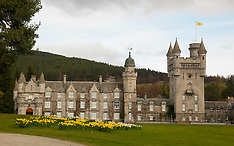 Balmoral Castle in the springtime | Royal Deeside  | 23 April 2017