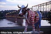 Harrisburg, PA, City Cattle Theme Art