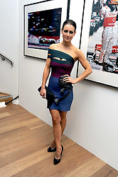 TV presenter KIRSTY GALLACHER at the TAG Heuer British Formula 1 Party at the Mall Galleries, London on 15th September 2008.