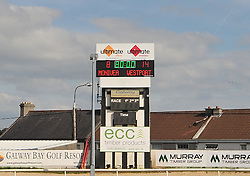 The scoreboard in the sportsground at full time in the Connacht Junior Cup final.<br /> Pic Conor McKeown