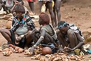 Ari marketwomen, Omovalley, Wejafer,Ethiopia,Africa