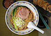 "A type of Chinese noodles (ramen) known in Japanese as ""syoyu ramen"""