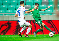 Asmir Suljić of Olimpija during football match between NK Olimpija Ljubljana and NK Celje in 3rd Round of Prva liga Telekom Slovenije 2018/19, on Avgust 05, 2018 in SRC Stozice, Ljubljana, Slovenia. Photo by Vid Ponikvar / Sportida