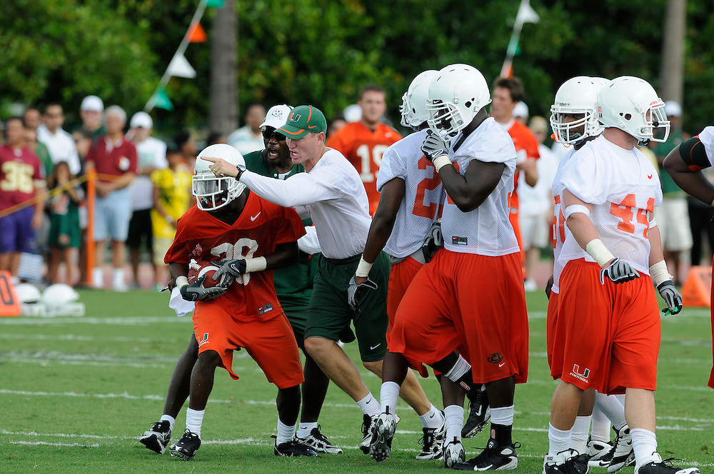 University of Miami Football Practice during CanesFest 2008