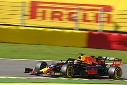 August 30, 2019, Spa Francorchamps, Belgium: Red Bull Racing Driver MAX VERSTAPPEN (NDL) in action during the second free practice session of the Formula one Belgian Grand Prix at the SPA Francorchamps circuit - Belgium (Credit Image: © Pierre Stevenin/ZUMA Wire)