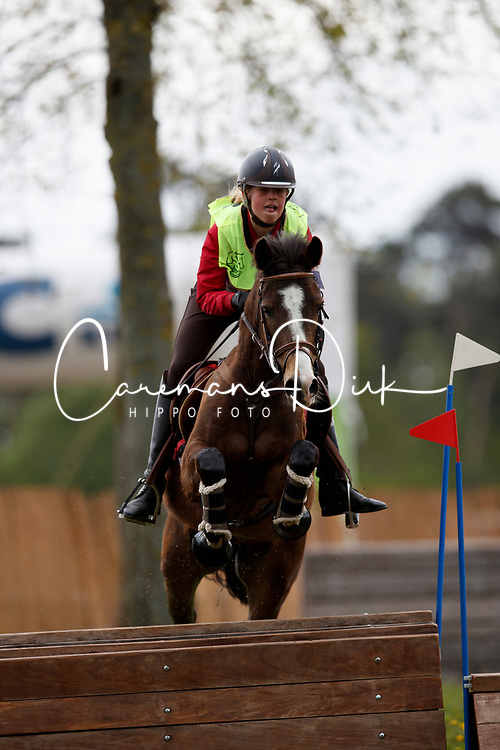 Laurijssen Louise, BEL, Orchid's Bowdy Golden H<br /> Nationaal Kampioenschap Eventing Minderhoud 2018<br /> &copy; Hippo Foto - Dirk Caremans