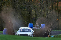 #48 Stuart Gilks / Mike Boyns Talbot Sunbeam Rugby / HRCR Lotusbits during Neil Howard Memorial Stage Rally, and opening round of the 2015 Motorsport News Rally Championship.  at Oulton Park, Little Budworth, Cheshire, United Kingdom. November 07 2015. World Copyright Peter Taylor. Copy of publication required for printed pictures.  Every used picture is fee-liable. http://archive.petertaylor-photographic.co.uk