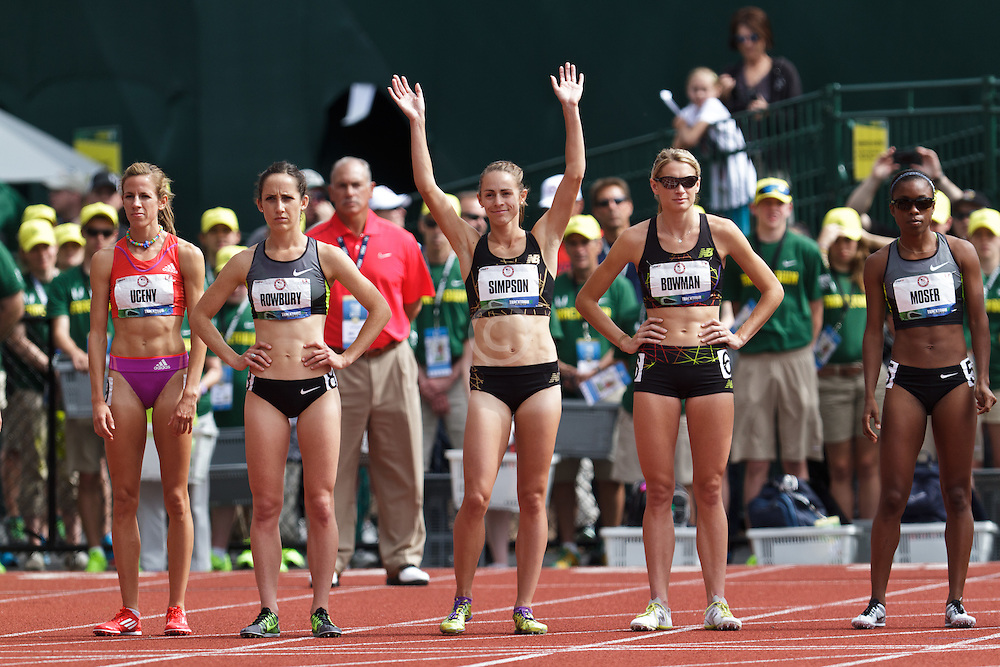 Olympic Trials Eugene 2012, women's 1500 meters