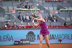 May 12, 2018 - Madrid, Madrid, Spain - KIKI BERTENS in a match against PETRA KVITOVA during the final of Mutua Madrid Open 2018 - WTA in Madrid. (Credit Image: © Patricia Rodrigues via ZUMA Wire)