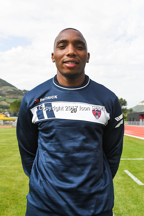 Ludovic Soares of Clermont during the friendly match between Montpellier Herault and Clermont foot on July 19, 2017 in Millau, France. (Photo by Philippe Le Brech/Icon Sport)