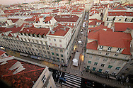 View of Lisbon's downtown