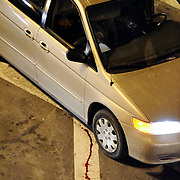 A shooting took place at the entrance of the Midtown Tunnel lasnite leaving this man dead inside of the minivan. The shooting started at Morgan and Meeker Avenues in Brooklyn and ending here before the perps tried to flee towards manhattan.